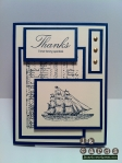 Chantal Nautical Thanks Card-WM