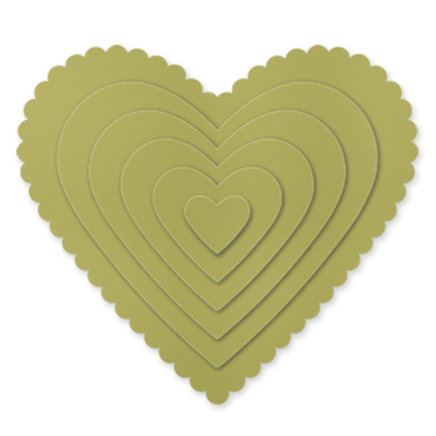 Hearts Collection Framelits Dies