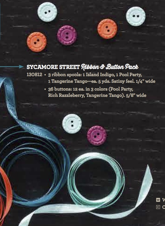 Sycamore Street Ribbon & Button Pack