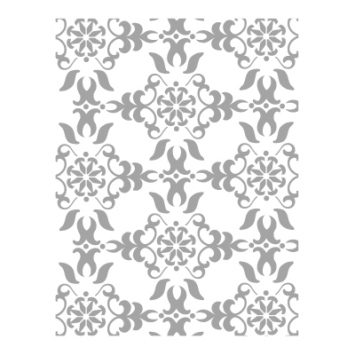 Vintage Wallpaper Embossing Folder
