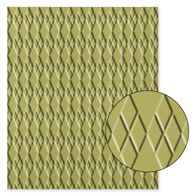 Argyle Textured Impressions Embossing Folder