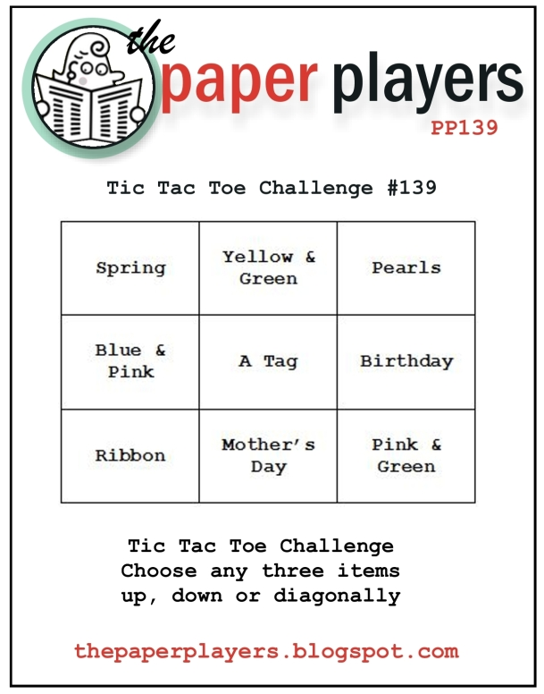 Paper Players #139 Tic-Tac-Toe 3-31-2013