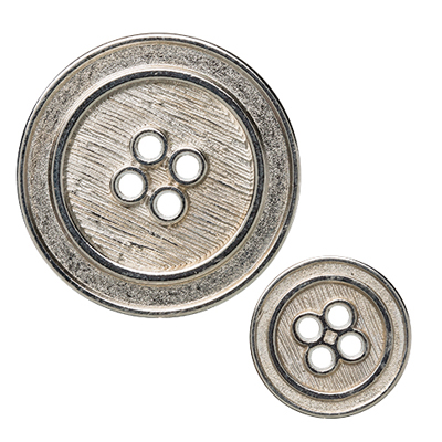 Silver Basics Designer Buttons