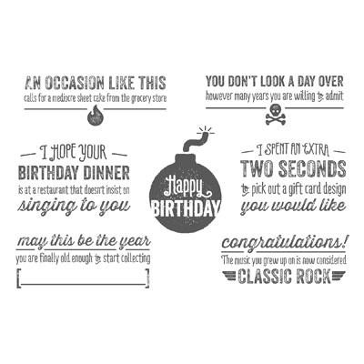 Bombs Away Birthday PP
