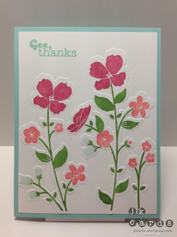 Control Freaks May Blog Tour Gee Thanks Card
