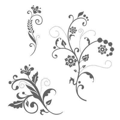 Flowering Flourishes CM