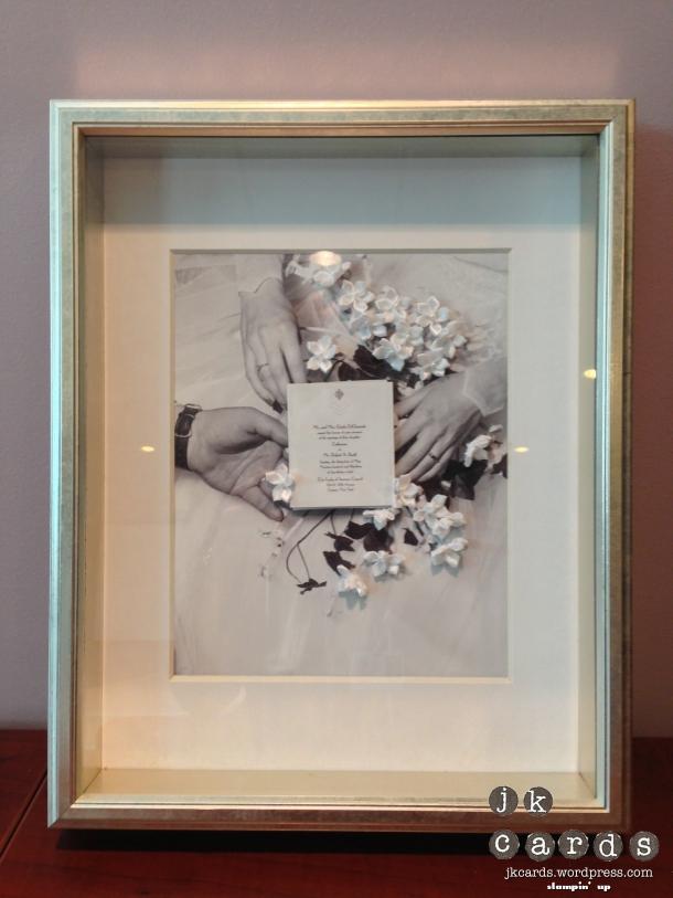 RSB Parent's Anniversary Frame