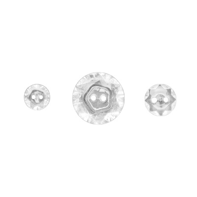Vintage Faceted Designer Buttons