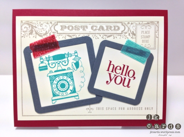 Timeless Post Card Tape