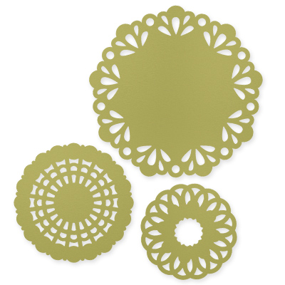 Delicate Doilies Large Sizzlits Die