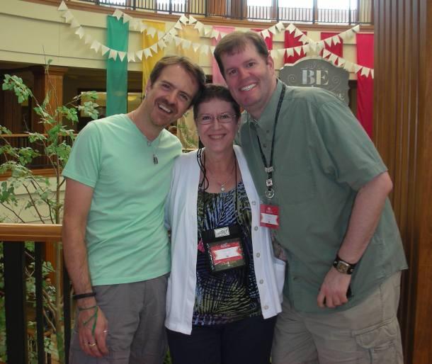 Me, Brian & Charlotte