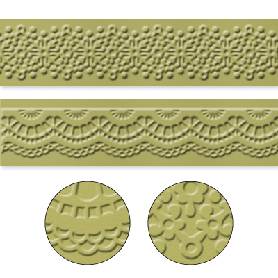 Delicate Designs Textured Impressions Embossing Folders