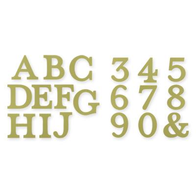 Typeset Alphabet Bigz Dies