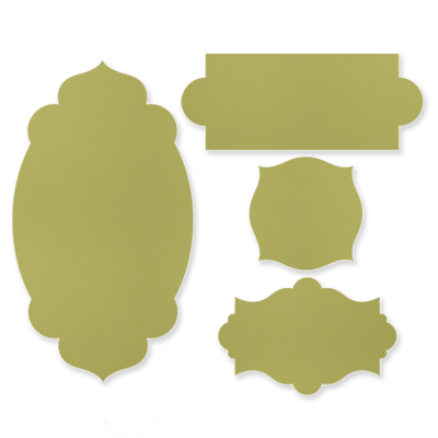 Apothecary Accents Framelits