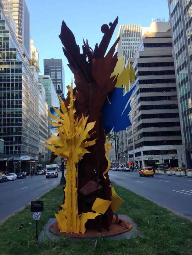 Park Ave Sculpture 1