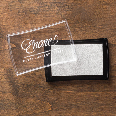 Silver Metallic Encore Pad