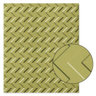 Chevron Textured Impressions Embossing Folder