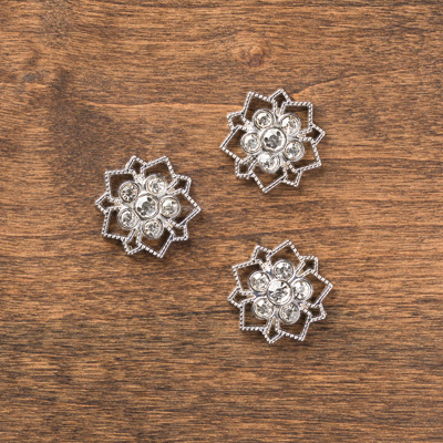 Frosted Finishes Embellishments
