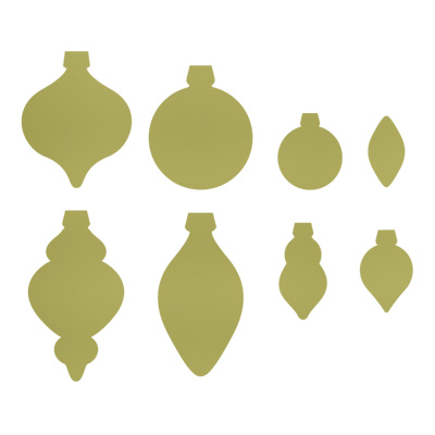 Holiday Ornaments Framelits Dies