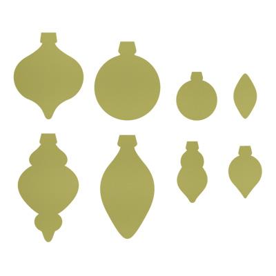Holiday Ornaments Framelits Dies