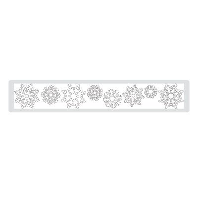 Northern Frost Decorative Strip Die