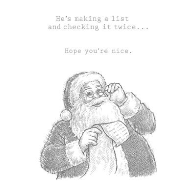 Santa's List CM
