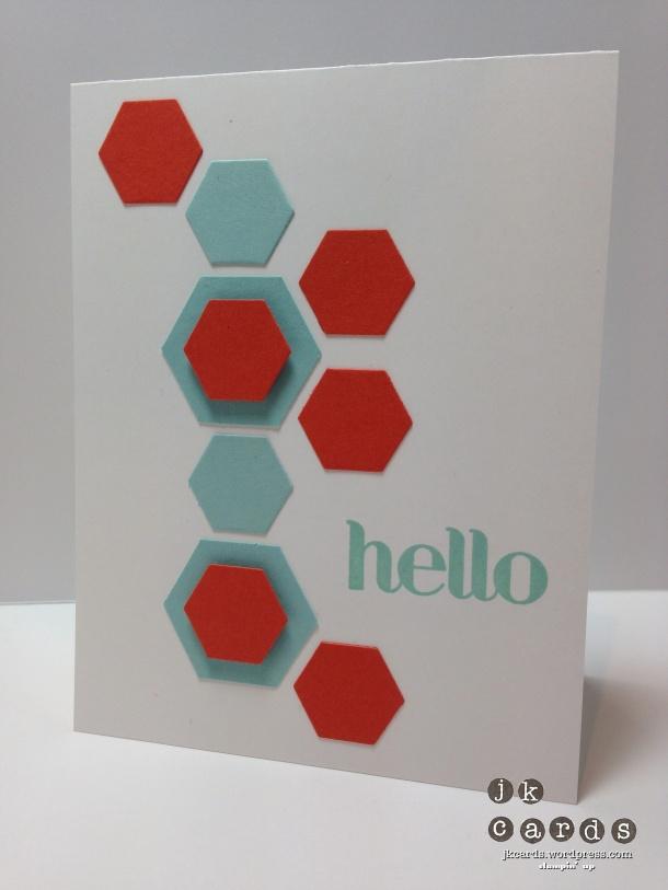 Four You, Hexagon Hive Thinlit, Hexagon Punch
