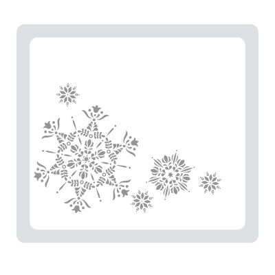 Northern Flurry Embossing Folder