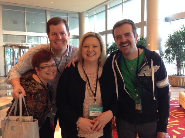 Ann, Brian, Anne Marie, Me Lead 2014
