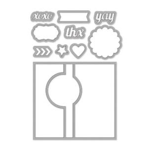 Circle Card Thinlits Dies