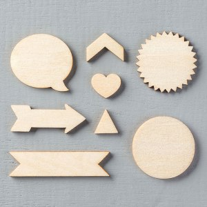 Essentials Wooden Elements