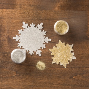 Silver Gold Stampin' Glitter