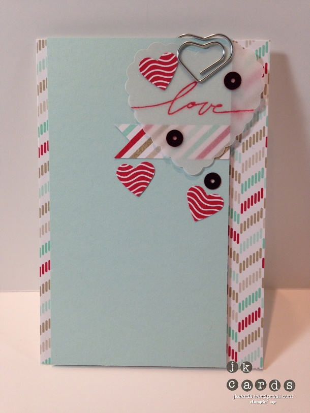 Valentine Note Card-WM