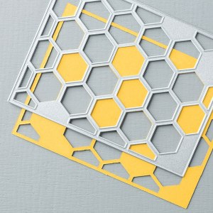 Hexagon Hive Thinlits Die