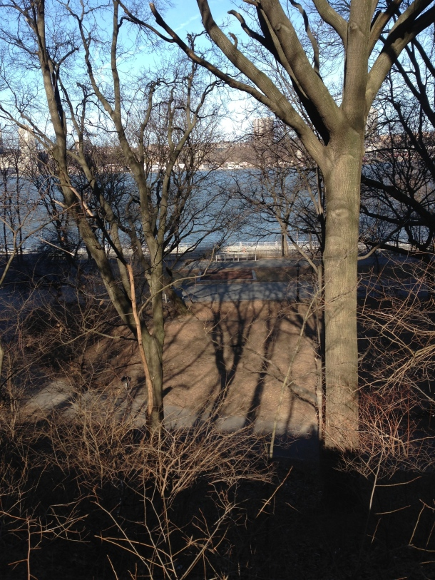 Riverside Park & the Hudson