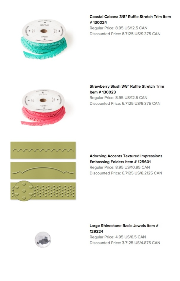 Stampin' Up! Weekly Deals 3-04-2014 1
