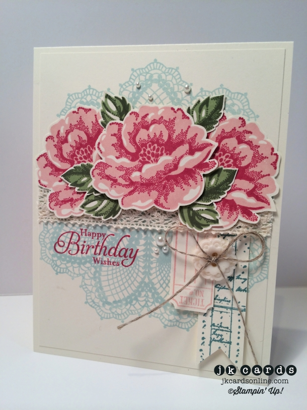 Doily Blossoms Lace Birthday-WM