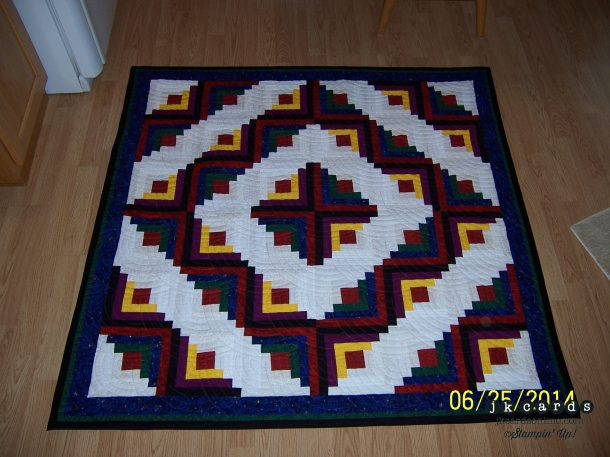 Log Cabin Quilt-WM
