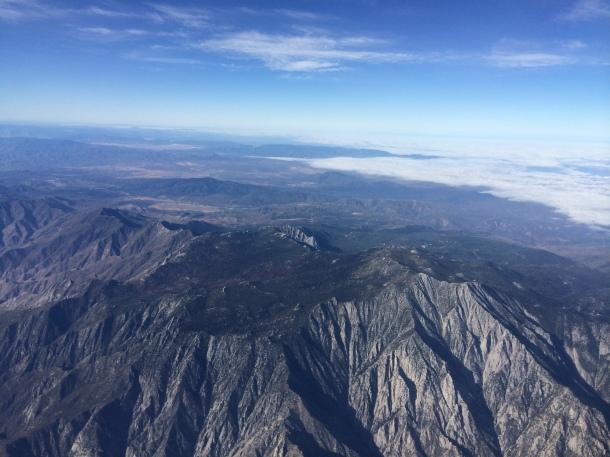 Mountains jetBlue LGB 2