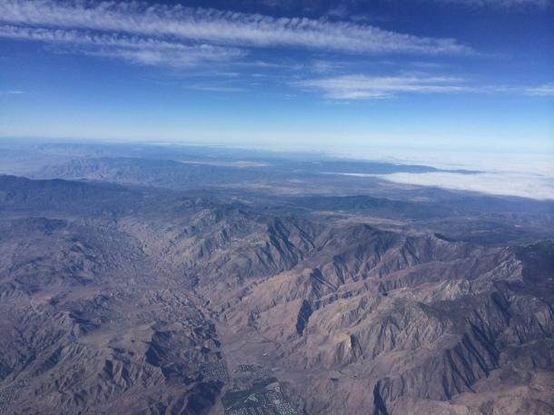 Mountains jetBlue LGB