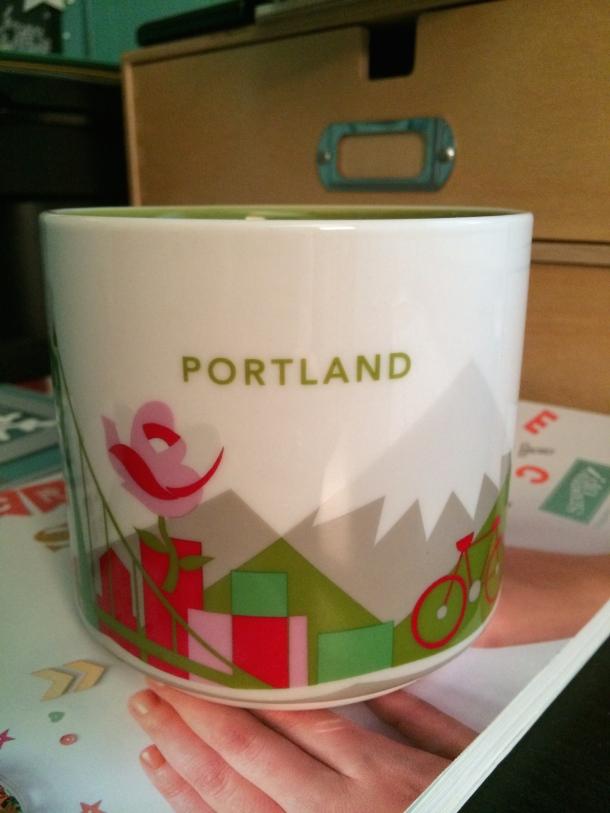 Eva Portland Sbux Mug